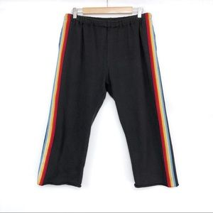 SPIRITUAL GANGSTER Rainbow Perfect Harem Sweatpant
